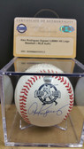 Alex Rodriguez Signed 3,000th Hit Logo Baseball w/COA