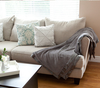 Plush Home Throw