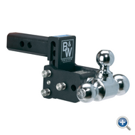 """B&W Hitches Tow and Stow Receiver Hitch 3"""" Drop"""