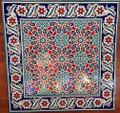 Infinite Pattern tile with Border 08