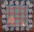 Infinite Pattern tile with Border 18