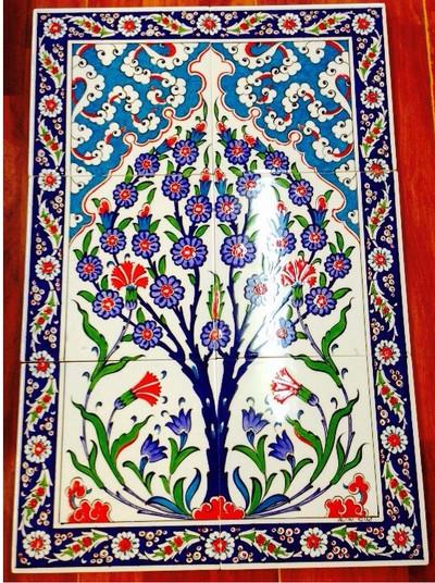 40cm x 60cm Ceramic Tile Wall Art