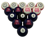 Arizona Wildcats Billiard Ball Set