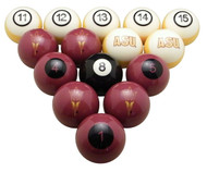 Arizona State Sun Devils Billiard Ball Set