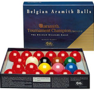 Aramith Tournament Champion Snooker Ball Set with Pro Cup Cue Ball