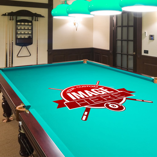 ... Custom Pool Table Cloth. Image 1