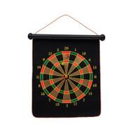 Double sided magnetic dart board