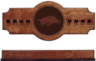 Arkansas Razorbacks Cue Rack - Medallion Series