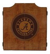 Alabama Crimson Tide Dart Cabinet - Medallion Series