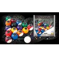Vigma Silver Ring Billiard Ball set