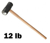 12 lb. Sledge Hammer w/ Wood Handle