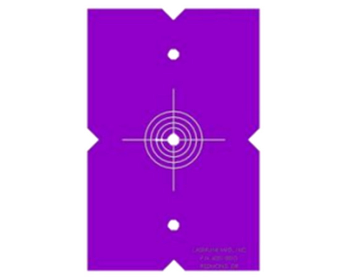 laserline quad 1000 target template 2 pack kara company inc