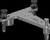 Base Plate/Plumb Tripod ST-09