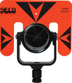 SECO Rear Locking 62 mm Premier Prism Assembly with 5.5x7 inch Target - Flo Orange with Black