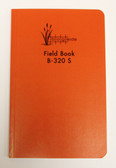 "Field Book 8X4"" Saddle Stitched - Orange"