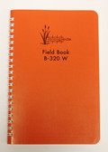 "Bogside Field Book B-320 W - 8X4"" Wire Bound - Orange"