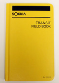 "Sokkia Transit Field Book Casebound 8X4"" - Yellow"