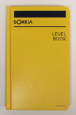 "Sokkia Level Book - Case Bound 5x8"" - Yellow"