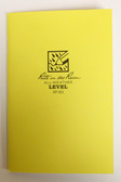 "Rite in the Rain - All-Weather Level Book - No. 311 - 5x7"" Yellow"