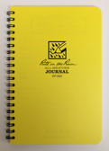"Rite in the Rain - All-Weather Journal - Spiral Bound - No. 393 - 5x7"" Yellow"