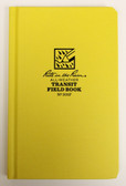 "Rite in the Rain - All-Weather Transit Field Book - Case Bound - No. 300F - 5x8"" Yellow"