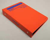 "Sokkia Field Book 3/4"" Ring Binder - Orange (8153-75)"