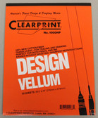 "Clearprint No. 1000HP Design Vellum Paper - 50 Sheets - 8.5x11"" (216x279mm)"