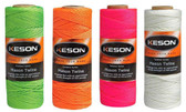 Keson Braided Nylon Mason Twine - Multiple Colors