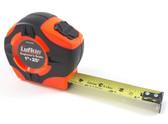 "Lufkin 25' x 1"" Engineer's Hi-Viz Orange P1000 Tape Measure"
