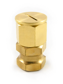 Kara Adjustable Brass Hexagonal Monument / Target Holder