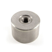 "Stainless Round Base for Invar / Scale Extension - 1.5"" Diameter x 1"""