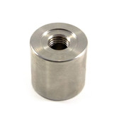 "Stainless Round Base for Invar / Scale Extension - 1"" Diameter x 1"""