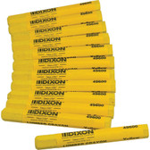 Dixon Lumbar Crayons - Yellow - Box of 12