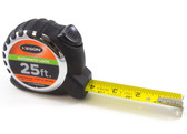 "Keson 25' x 1"" Automatic Lock Engineer's Tape Measure - Feet, Inches & 10ths"