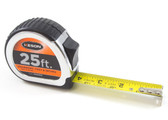 "Keson 25' x 1"" Engineer's Tape Measure - Feet, Inches & 10ths"