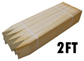 "1"" x 2"" x 24"" Premium Hardwood Flats - Bundle of 25"