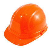 Omega II Cap Safety Helmet - Hi-Viz Orange - Secure-Fit