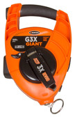 Keson G3X Giant Chalk Line Reel with High Speed Rewind - 100ft