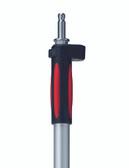 Leica GLS12F 2m Telescopic Aluminum Reflector Pole w/ Leica Adapter (US Feet Graduation)