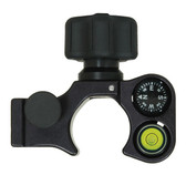 SECO Quick-Release Claw Pole Clamp with Compass and 40-minute Vial
