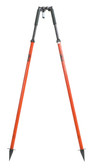 SECO Quick Lever Bipod with Thumb Release Legs - Flo Orange