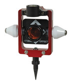 SECO Red European Style Compact & Portable Prism Pole System - Offset -17.5 mm Nodal