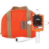 SECO Nodal Point Stakeout Mini Prism Kit - Flo Orange
