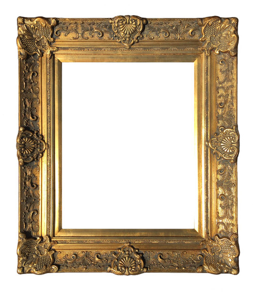 Ornate art frames encore editions for Rococo style frame