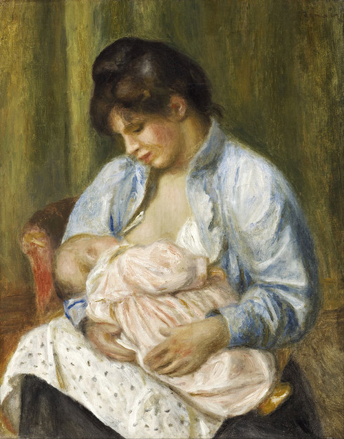 Mother And Nude Child Art | Fine Art America