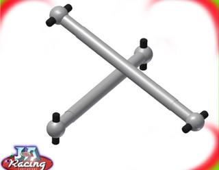 Fg 1/5th scale 4 x 4 front drive shaft 106mm long dog bone drive