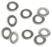 M10 Washer 10.5mm (20 Pack) A2 Stainless Steel Form A Thick Flat Washers Free UK Delivery