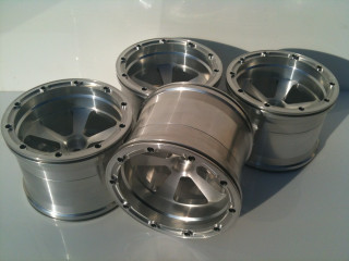 1/5th Scale Jmex Fg Stadium truck split rim wheels