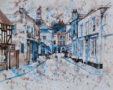 Blue and Brown Series: Godalming Town and Pepper Pot