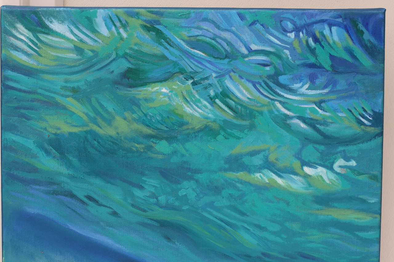 Close up view of Water and Sky 5